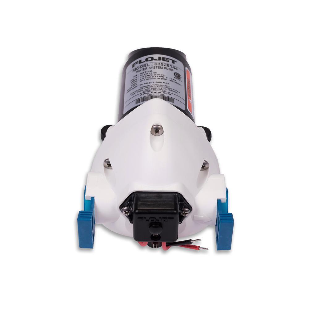 Flojet 12V 2.9 GPM 50 PSI Water Pump