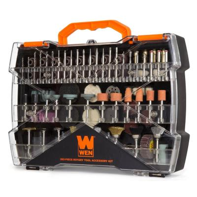 Assorted Rotary Tool Accessory Kit with Carrying Case (282-Piece)