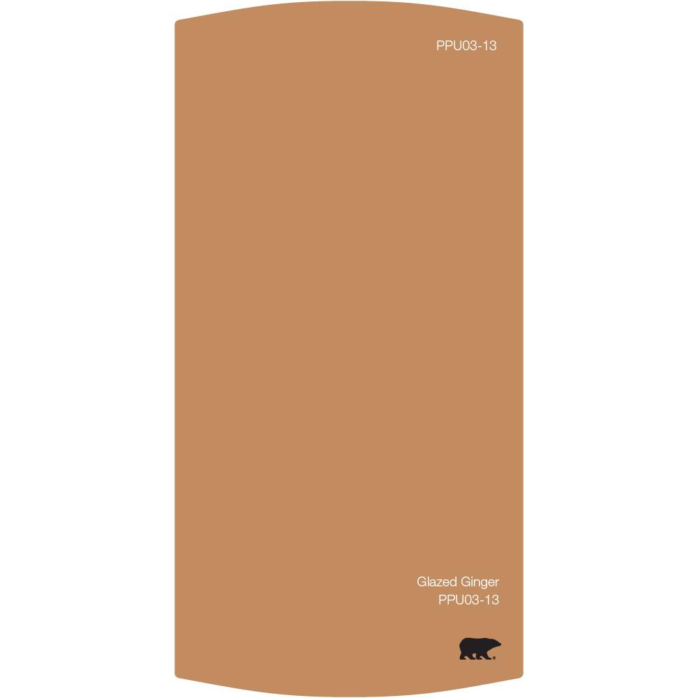 Color chips fan decks interior paint the home depot ppu3 13 glazed ginger color chip nvjuhfo Image collections