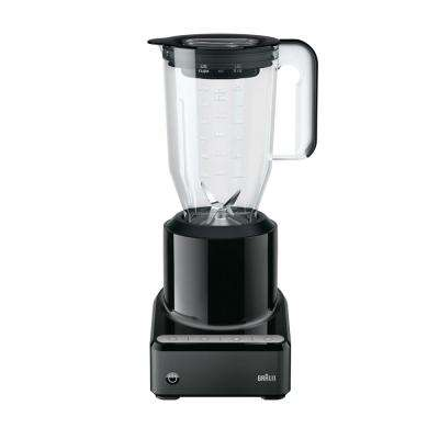 PureMix 56 oz. 2-Speed Black Countertop Blender with Plastic Jar