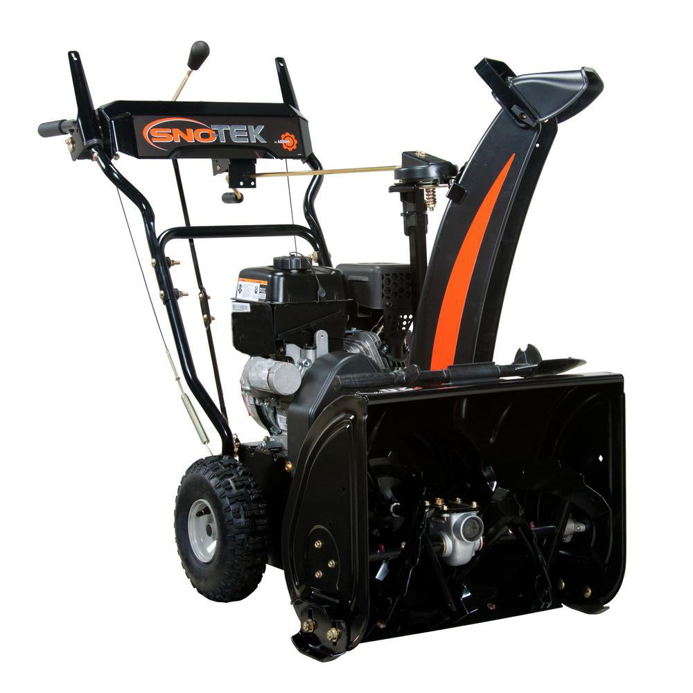 20 in 2 stage self propelled gas snow blower 920406 the home depot