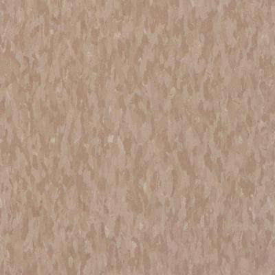 Take Home Sample - Imperial Texture VCT Cafe Latte Commercial Vinyl Tile - 6 in. x 6 in.