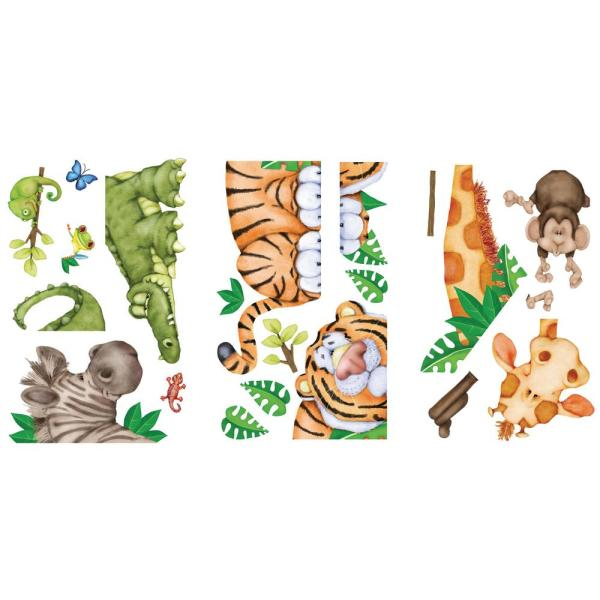 255 In X 28 In In The Jungle Super Jumbo Wall Decal 02586 The