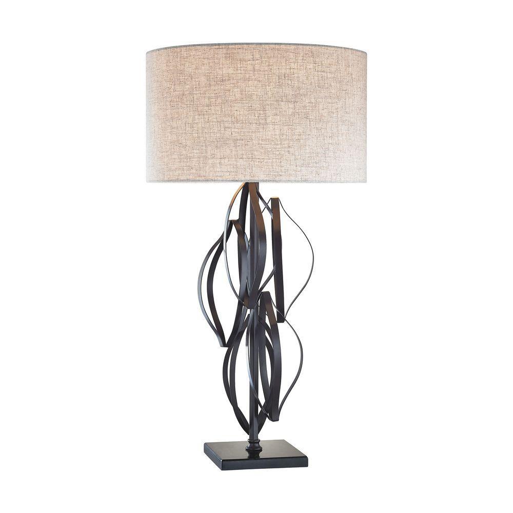 Felix 34 in. Bronze Table Lamp