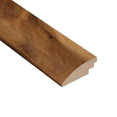 Matte Natural Acacia 3/8 in. Thick x 2 in. Wide x 78 in. Length Hardwood Hard Surface Reducer Molding
