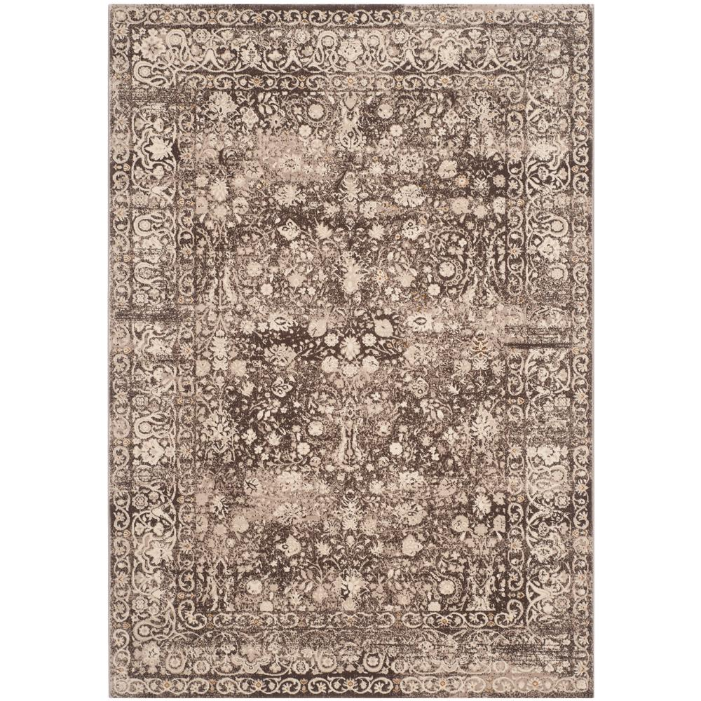 Serenity Brown/Cream 9 ft. x 12 ft. Area Rug