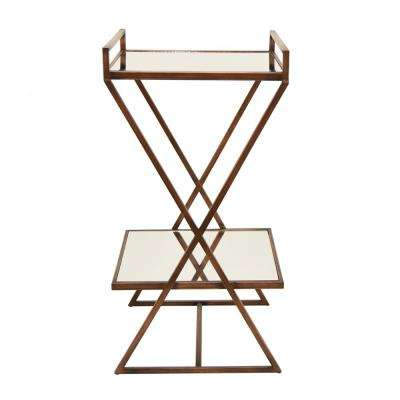 32 In. Bronze Accent Table