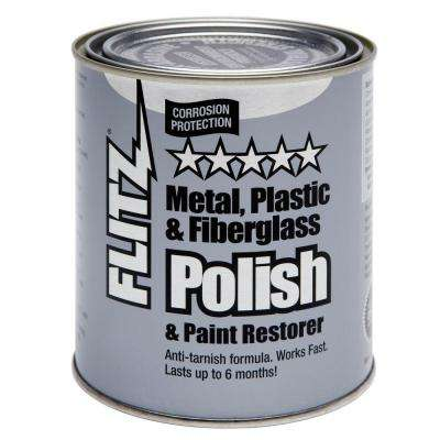 1 gal. Blue Metal, Plastic and Fiberglass Polish Paste Can