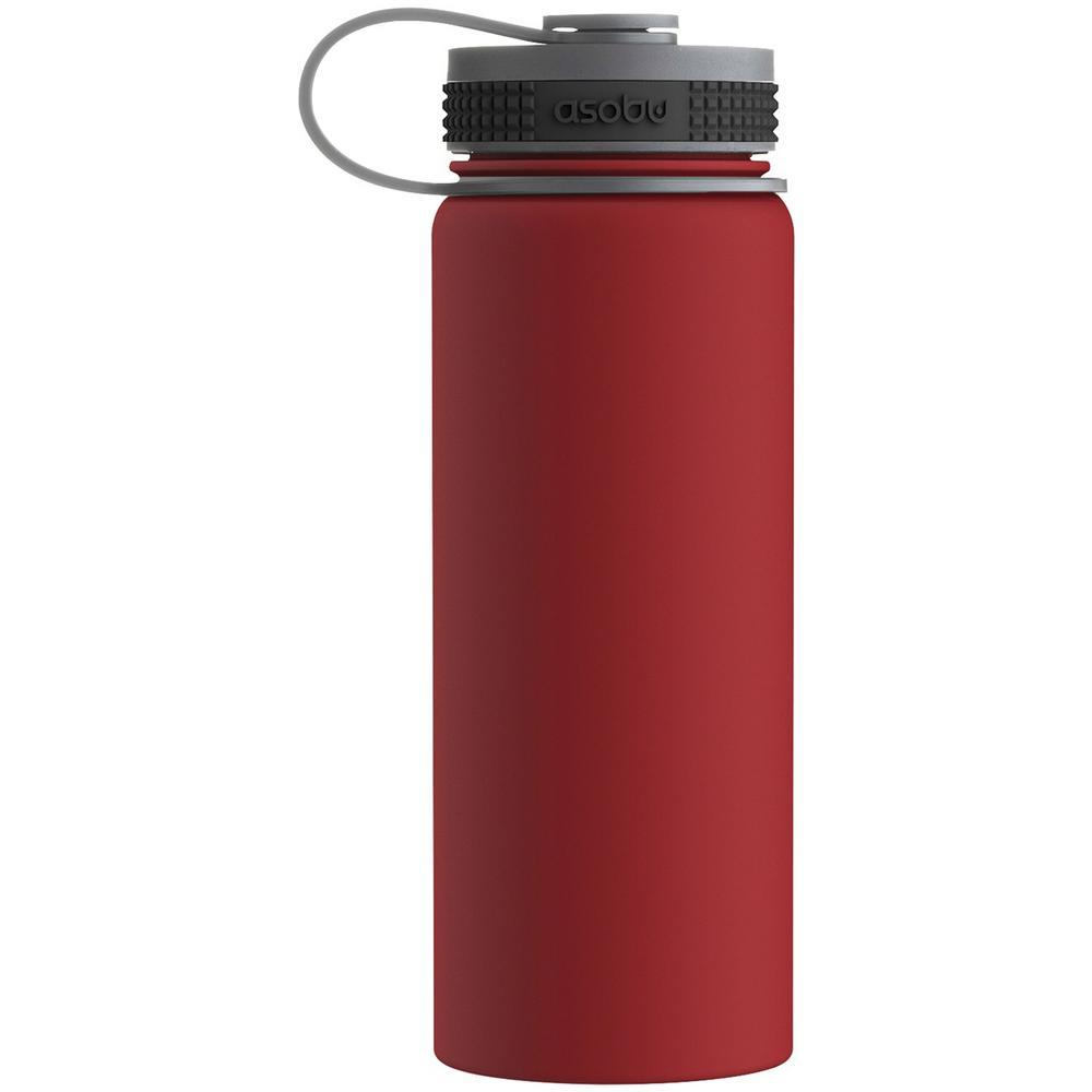 Alpine 18 oz. Red Flask
