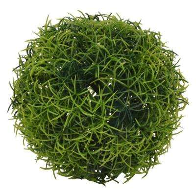 5 in. Green Artificial Boxwood Ball