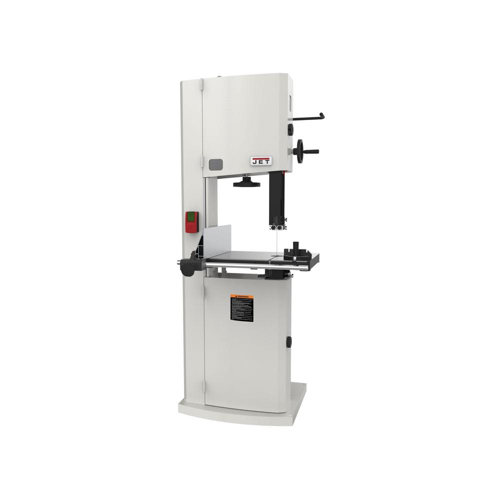 jet 1.75 hp 15 in. woodworking vertical band saw, 115/230-volt, jwbs-15