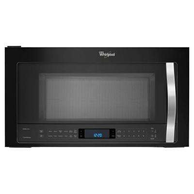 30 in. W 1.9 cu. ft. Over the Range Convection Microwave in Black Ice