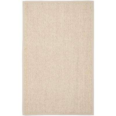 Natural Fiber Marble 6 ft. x 9 ft. Area Rug