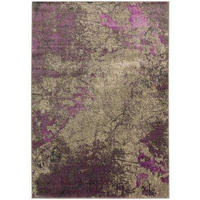 Bach 60 Abstract Orchid 5 Ft. 3 In. X 7 Ft. 7 In. Area Rug