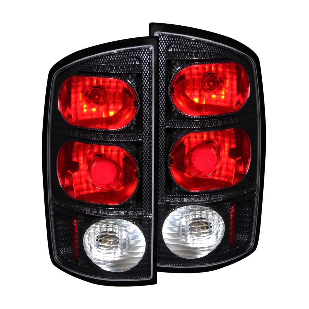 2002 2005 Dodge Ram 1500 Taillights Carbon