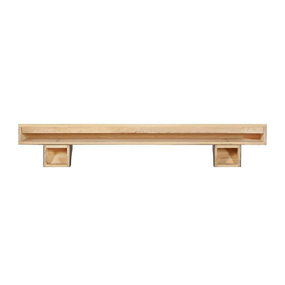 Pearl Mantels Lindon Traditional Fireplace Mantel Shelf Fireplaces