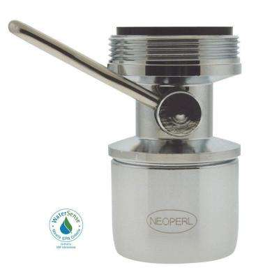 1.2 GPM Dual-Thread On/Off Water-Saving Faucet Aerator in Chrome