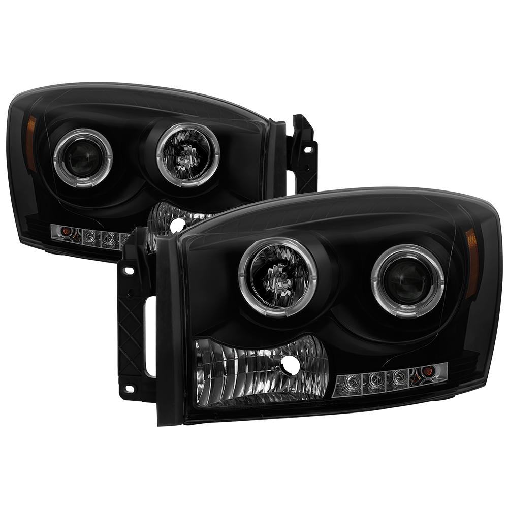 Halo Led Projector Headlights Wiring Installation Dodge Ram Pictures