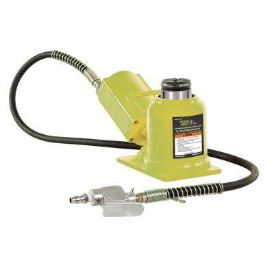 20-Ton Low Profile Air Hydraulic Bottle Jack