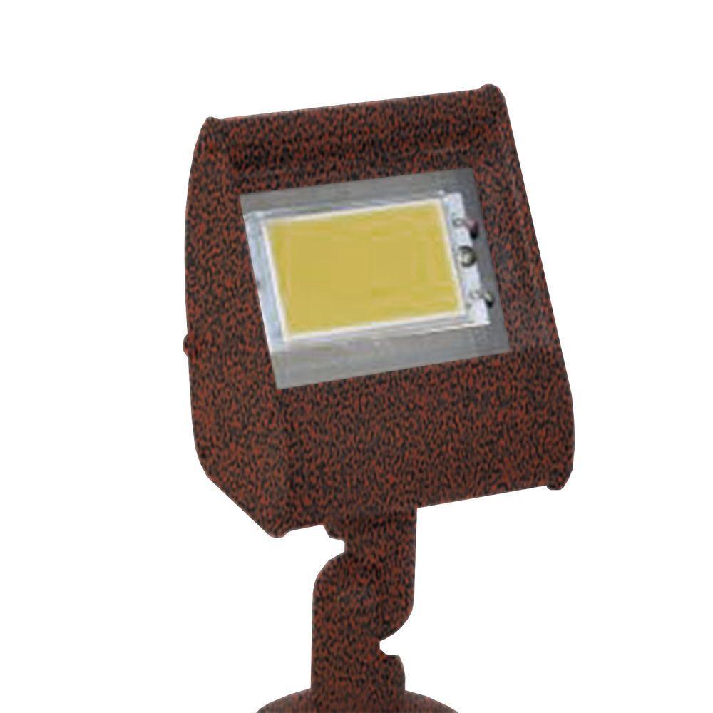 Filament Design Centennial 1-Light Outdoor LED Rust Directional Light