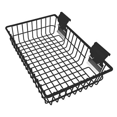 Slat Wall and Track 15 in. Basket