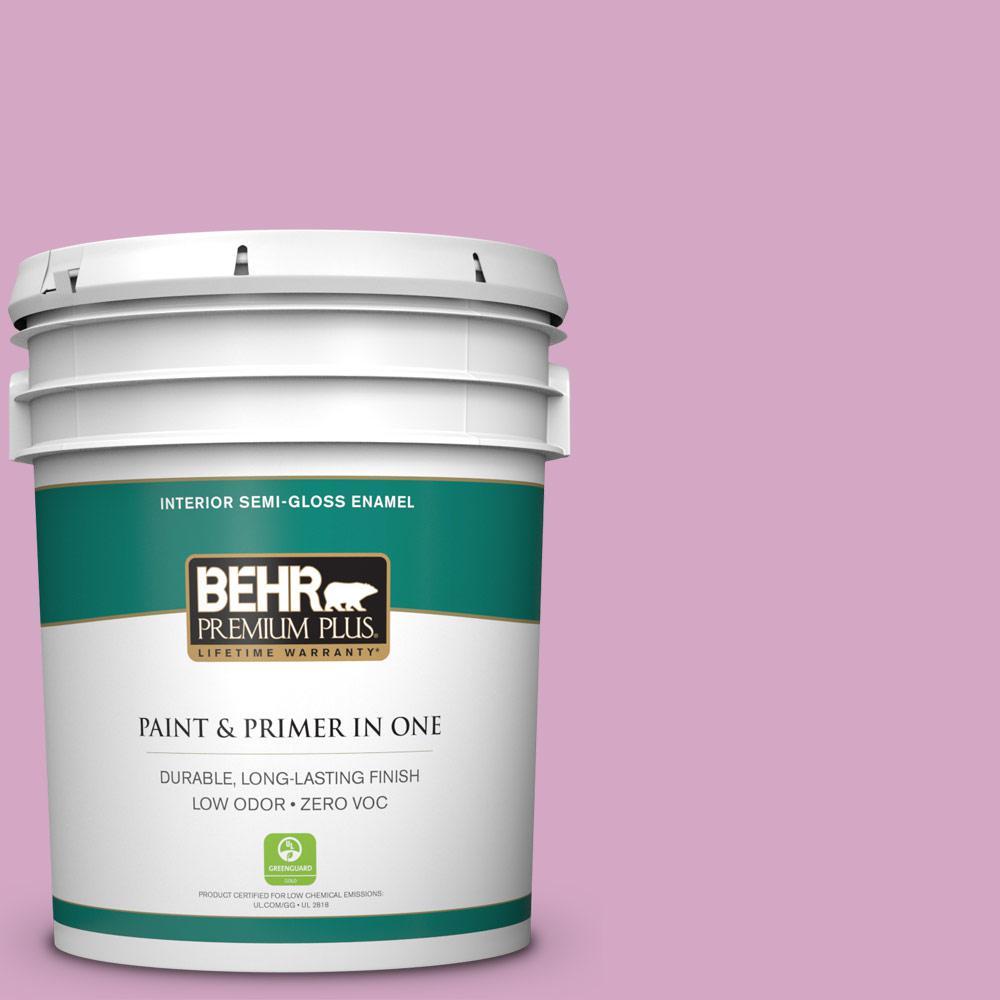 BEHR Premium Plus 5-gal. #M120-4 Heart to Heart Semi-Gloss Enamel Interior Paint