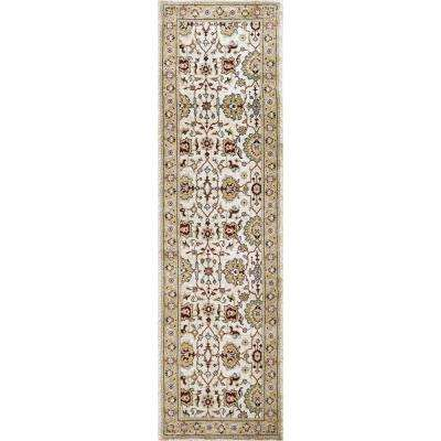 Zenith Ivory Multi 2 ft. x 8 ft. Runner Rug