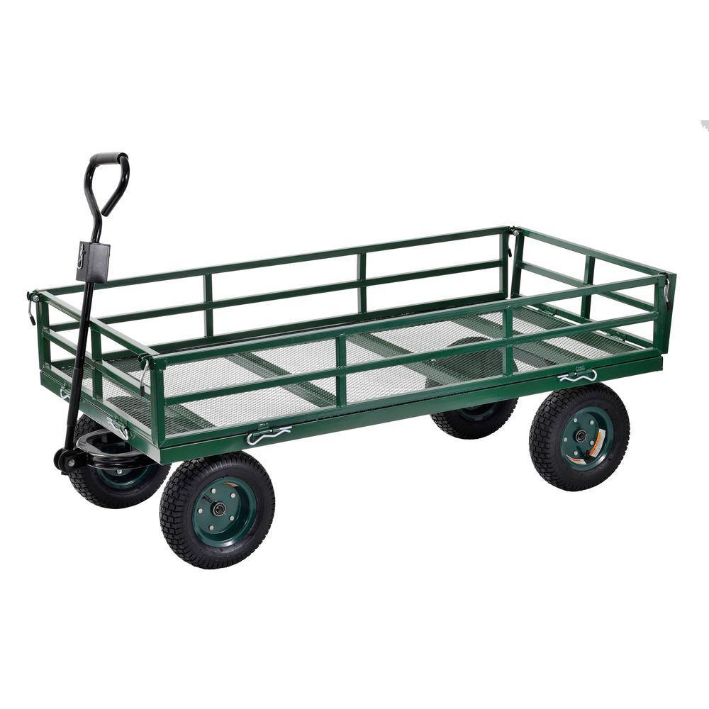 Sandusky 7 cu. ft. 31 in. W Utility Cart
