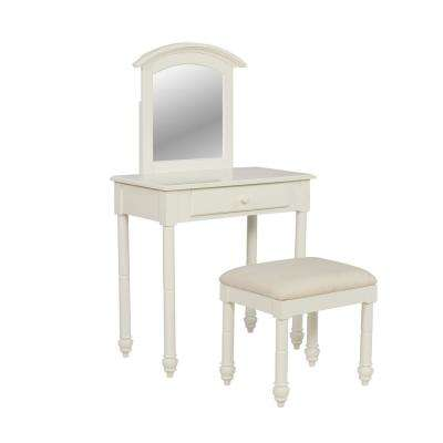 2-Piece Whitehurst Vanity with Stool