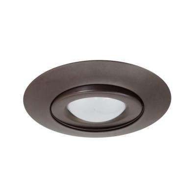 NICOR 6 in. Oil Rubbed Bronze Recessed Gimbal Ring Trim