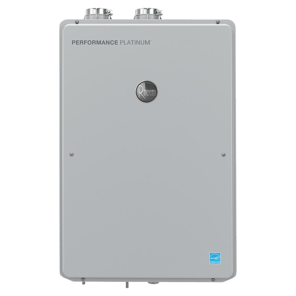 Rheem Performance Platinum 9.5 GPM Natural Gas High Efficiency Indoor Smart Tankless Water Heater