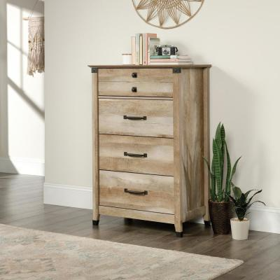 4-Drawer Lintel Oak Chest of Drawers