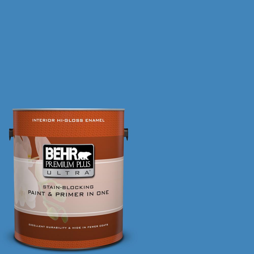 1 gal. #570B-6 Handsome Hue Hi-Gloss Enamel Interior Paint