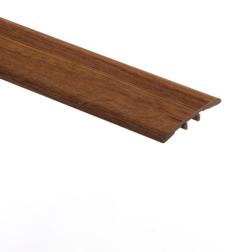 Markum Oak Medium/Perfect Oak 5/16 in. Thick x 1-3/4 in. Wide x 72 in. Length Vinyl T-Molding