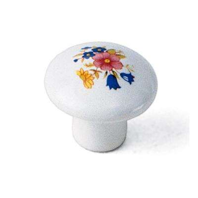 1-3/8 in. Porcelain Cabinet Knob