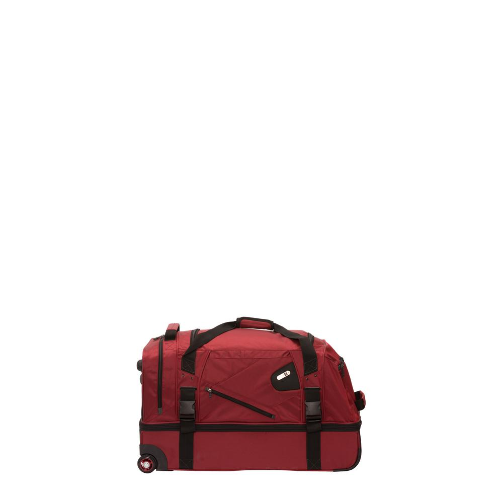 d08286e04d40 Ful Tour Manager Deluxe 30 in. Rolling Duffel Bag Retractable Pull ...