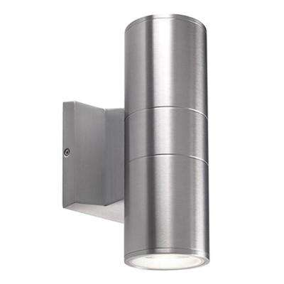 Oxford Silver Outdoor Integrated LED Wall Mount Sconce