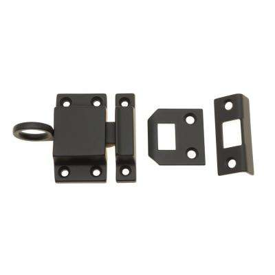 Solid Brass Transom Catch in Oil-Rubbed Bronze