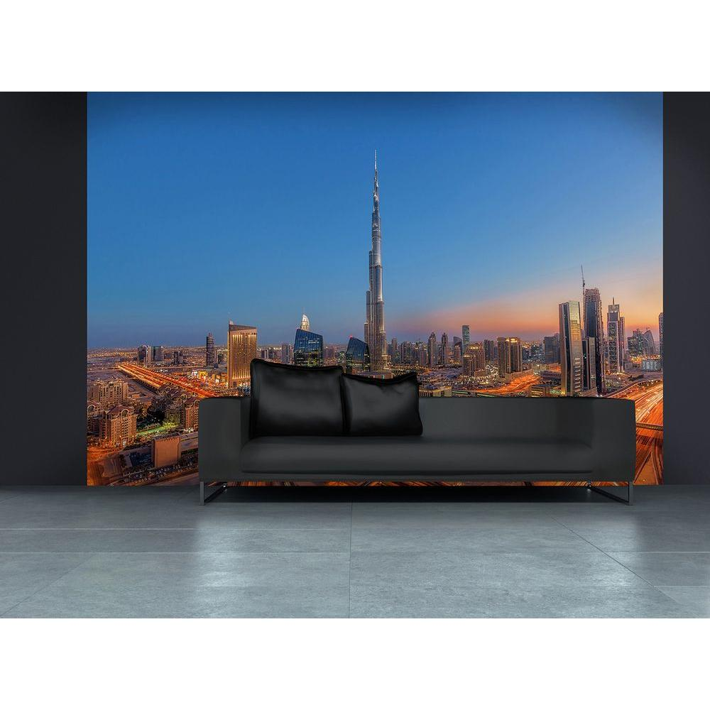 144 in. W x 100 in. H Burj Khalifah Wall Mural