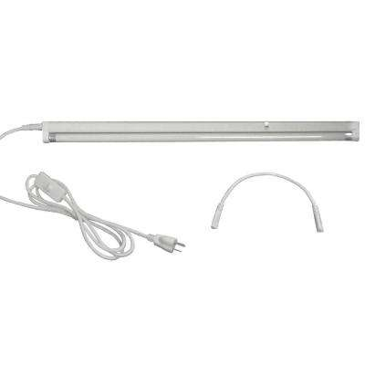 2 ft. T5 1-Bulb High Output 24-Watt Fluorescent Grow Light Fixture