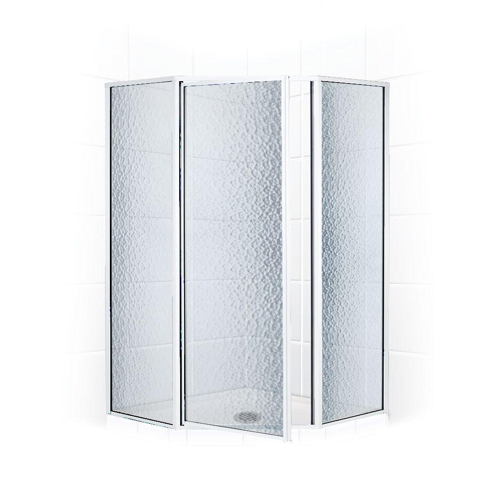Legend Series 59 in. x 70 in. Framed Neo-Angle Shower Door