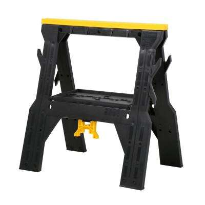 28 in. Folding Sawhorse (Twin Pack)