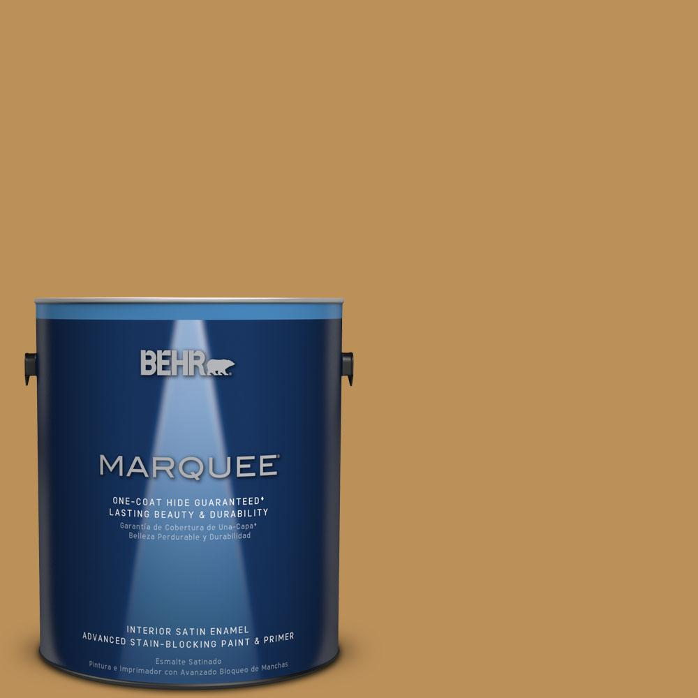 1 gal. #MQ4-7 Radiance One-Coat Hide Satin Enamel Interior Paint