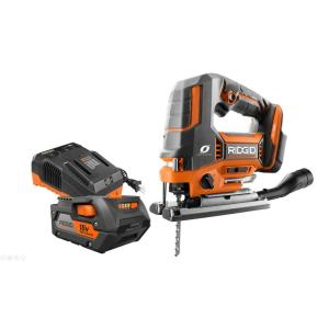 RIDGID 18-Volt OCTANE Brushless Jig Saw Kit