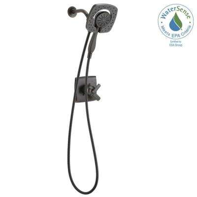 Ashlyn In2ition 1-Handle Shower Faucet Trim Kit in Venetian Bronze (Valve Not Included)