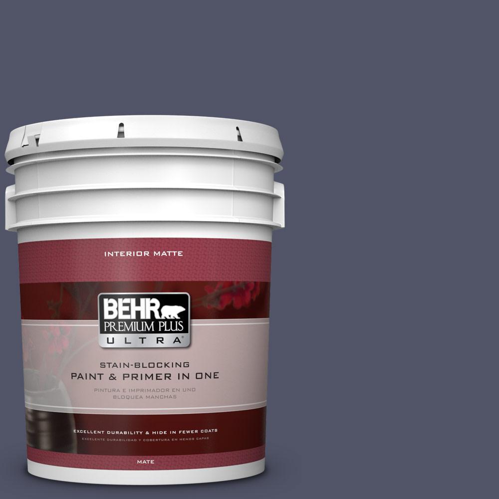 BEHR Premium Plus Ultra 5 gal. #S560-7 Lap of Luxury Matte Interior Paint