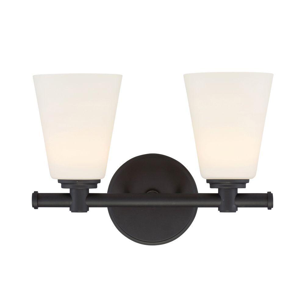 Parker Oil Rubbed Bronze Interior LED Bath Vanity Light