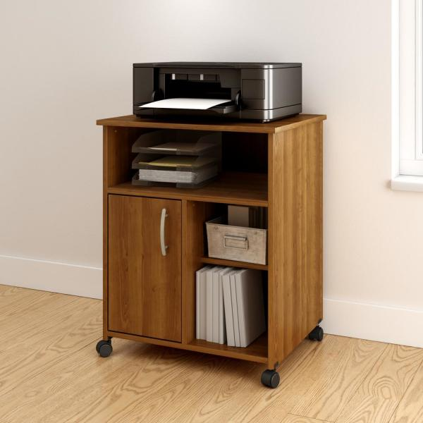 South Shore Axess Morgan Cherry Storage System 10768