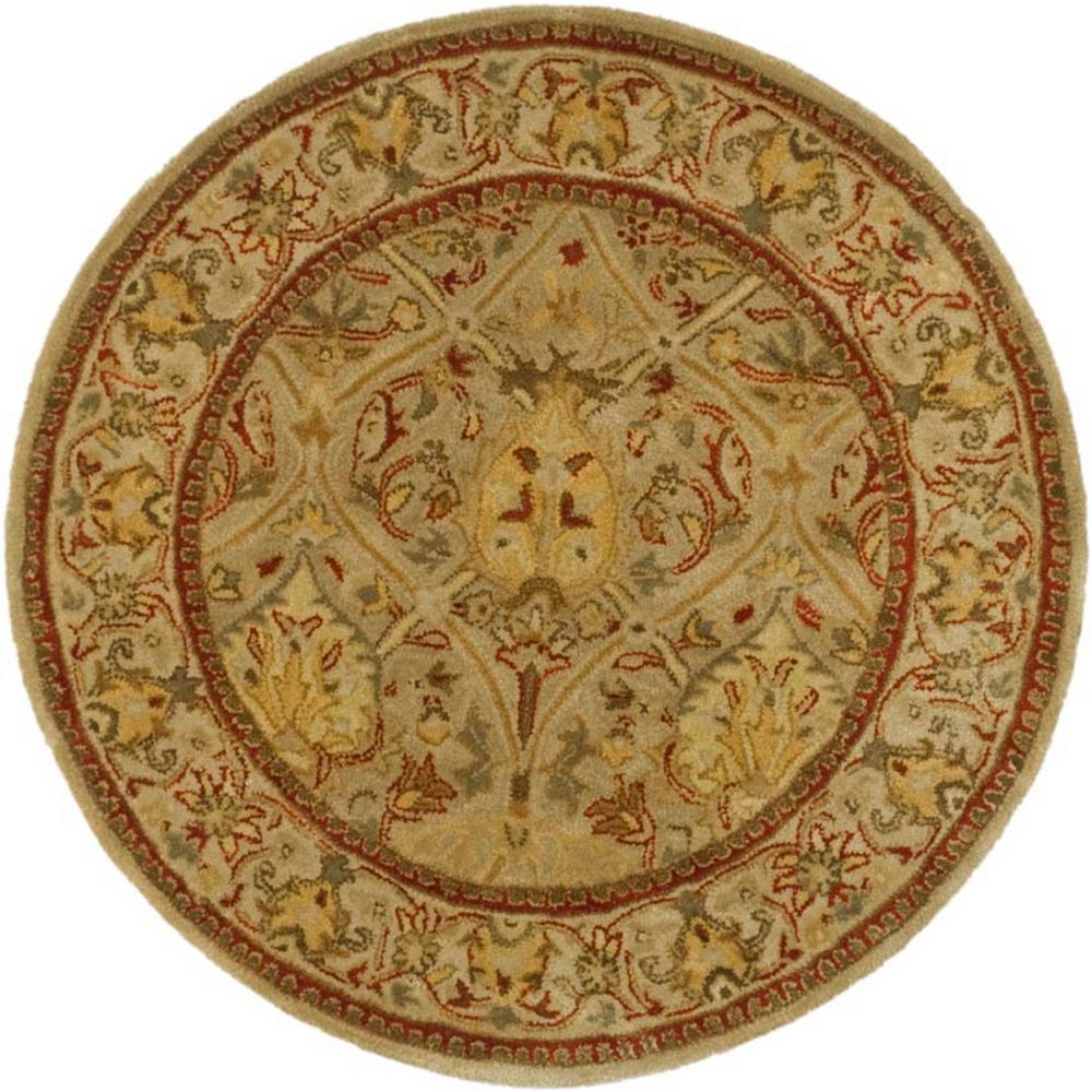 Safavieh Persian Legend Moss/Beige 8 ft. x 8 ft. Round Area Rug