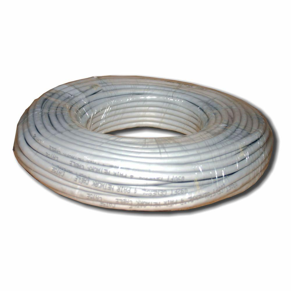 Electronic Master Category 5 100 ft. Gray 24-4 Unshielded Twist Pair